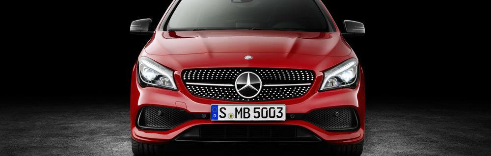 2017 Mercedes-Benz CLA New Grille