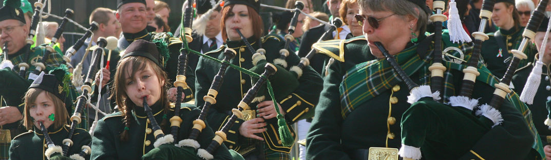 Bagpipes in Scottsdale AZ for St Patricks Day