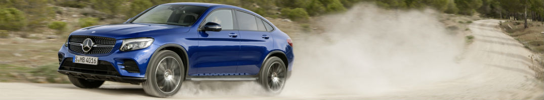 2017 Mercedes-Benz GLC300 Coupe Dirt Trail