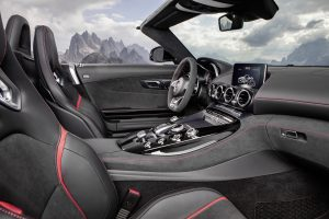 2018 Mercedes-AMG GT C Roadster Steering Wheel
