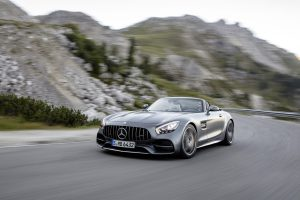 2018 Mercedes-AMG GT C Roadster Headlights