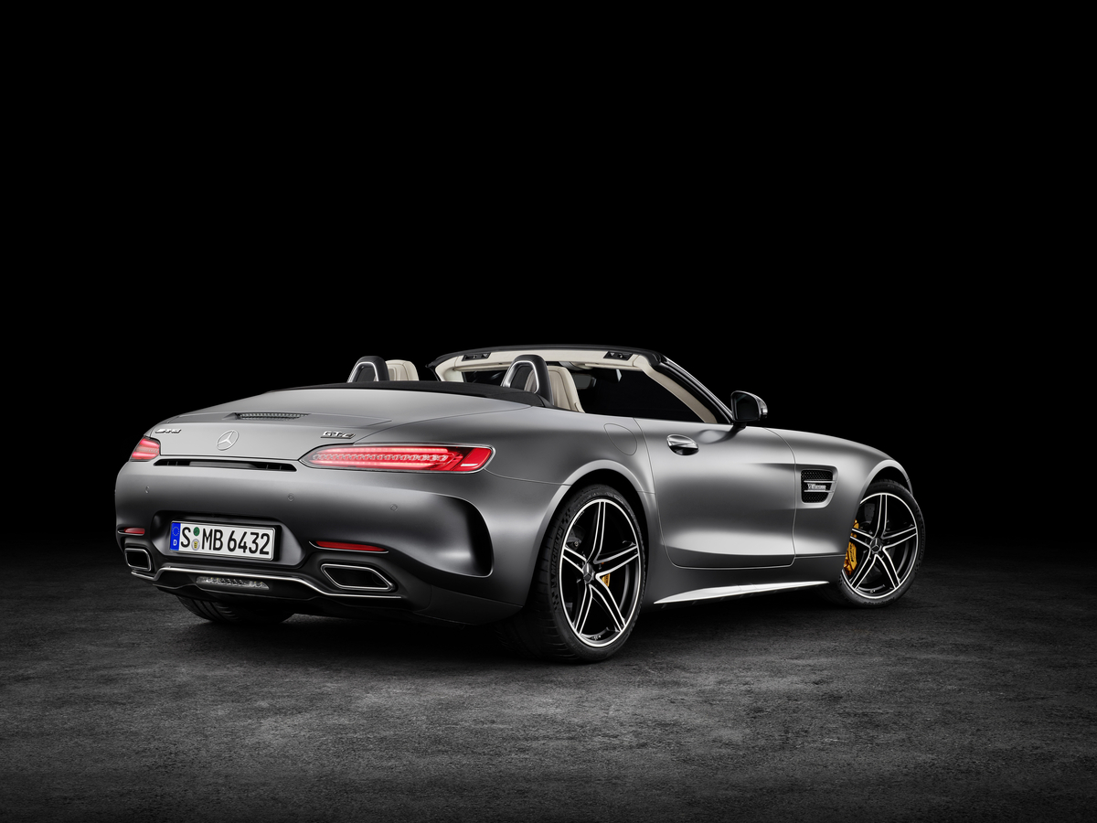 2018 Mercedes-AMG GT C Roadster rear wing