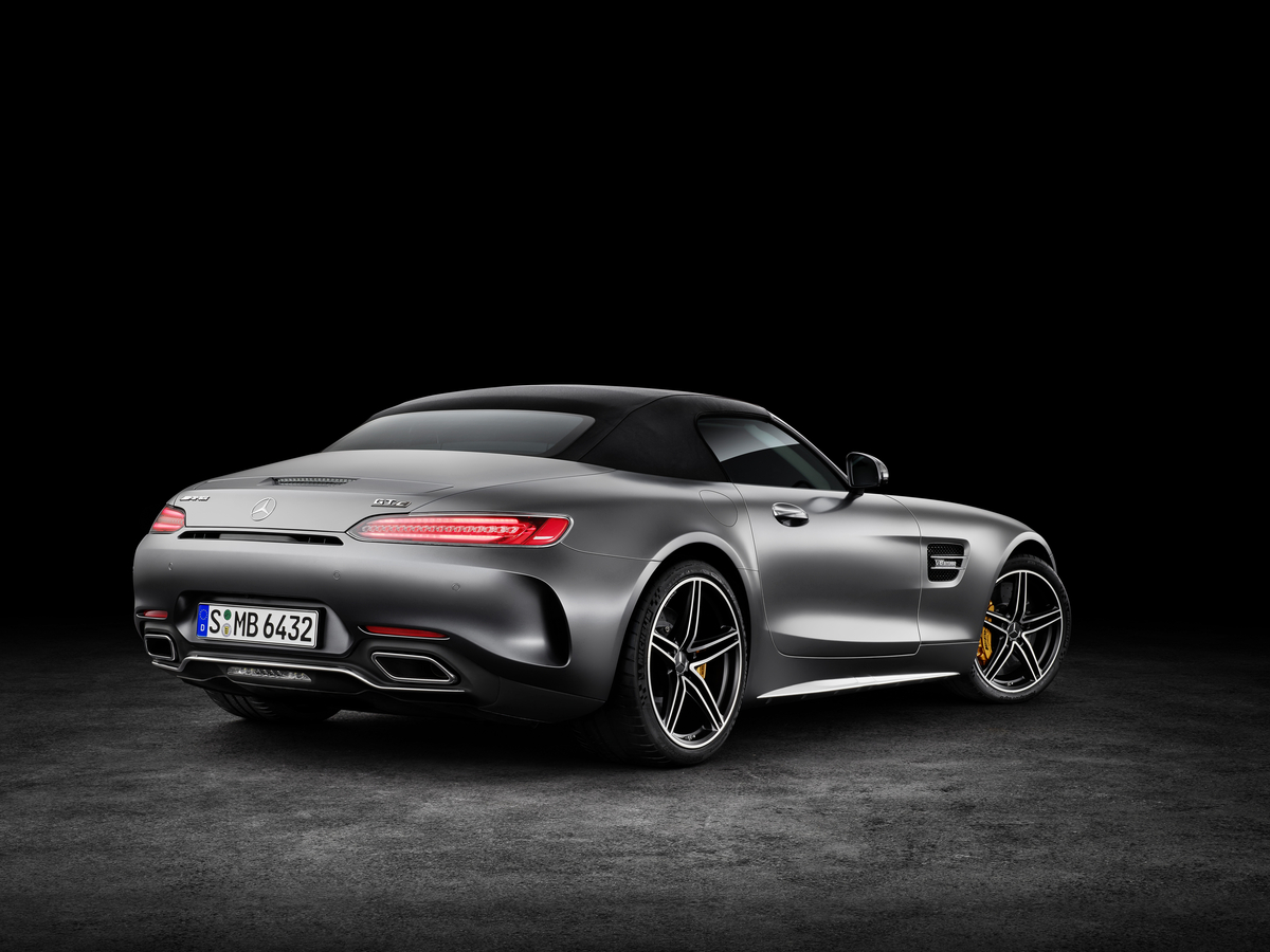 2018 Mercedes-AMG GT C Roadster Taillights