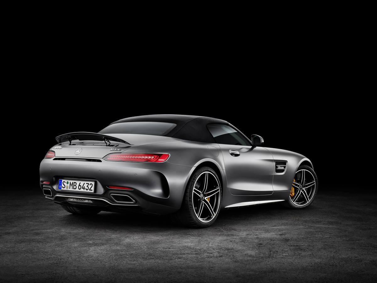 2018 Mercedes-AMG GT C Roadster rear bumper