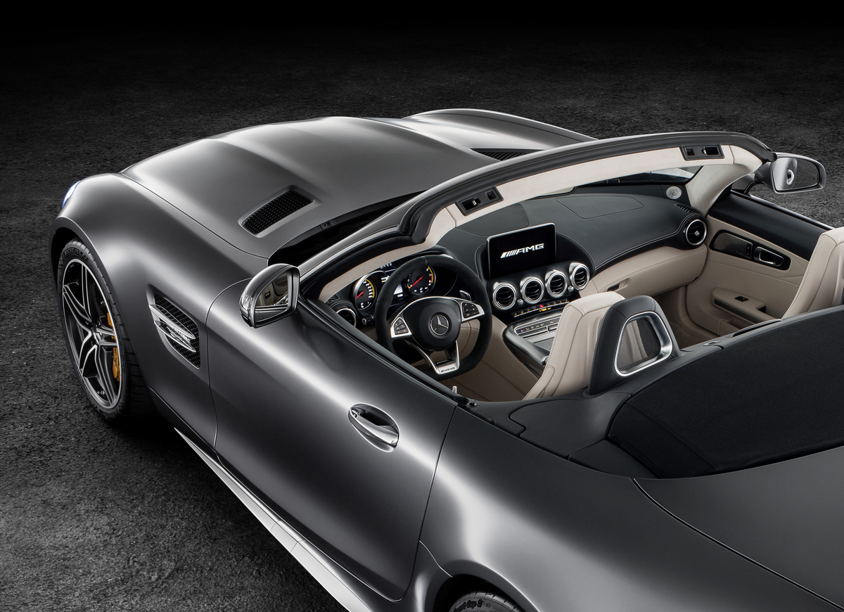 2018 Mercedes-AMG GT C Roadster Convertible