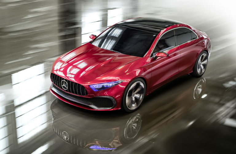 What does the Mercedes-Benz Concept A Sedan look like?