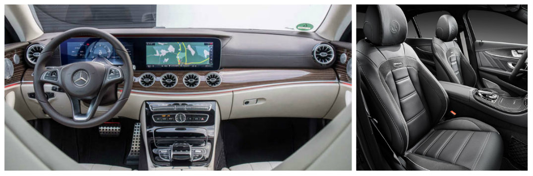 mercedes-benz leather interior clean