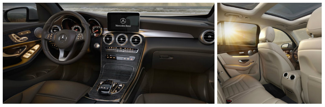 mercedes-benz infotainment naviagtion leather