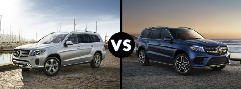 2017 mercedes benz gls 450 vs gls 550 for Mercedes benz service b coupons 2017