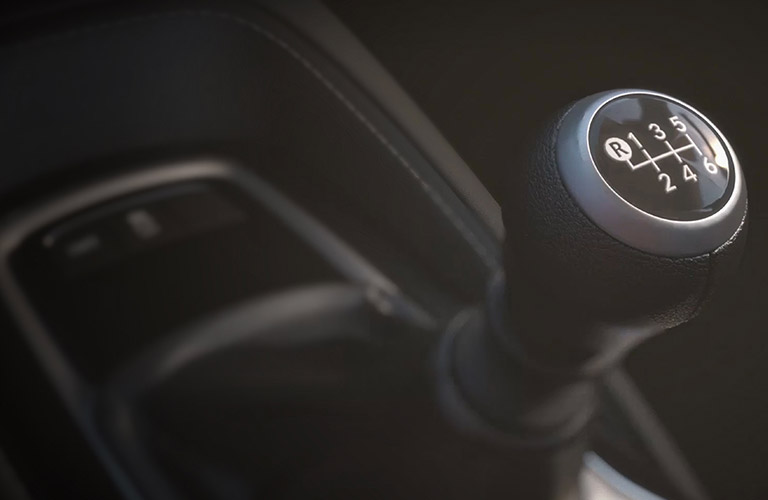 close up of shift knob in 2019 Toyota Corolla Hatchback
