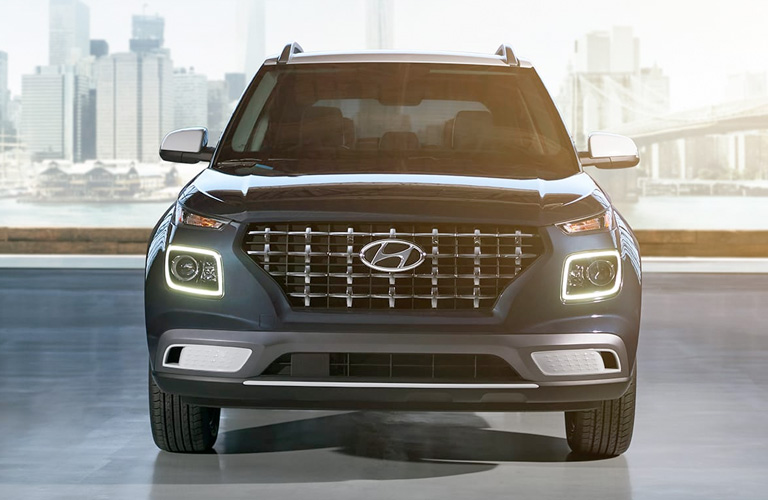 2020 Hyundai Venue front end