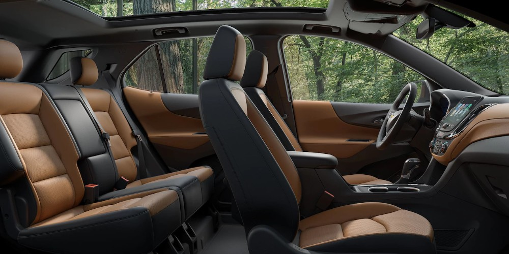 2018 Chevy Equinox interior full view seating area