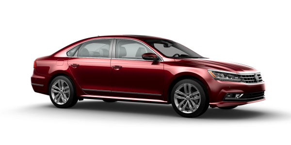 2018 VW Passat in Fortana Red Metallic