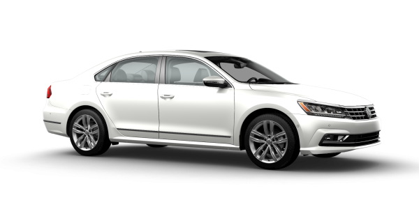 2018 VW Passat in Pure White