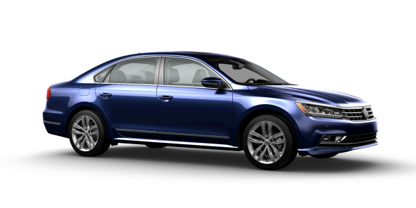 2018 VW Passat in Tourmaline Blue Metallic
