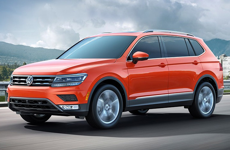full view of the 2018 VW Tiguan