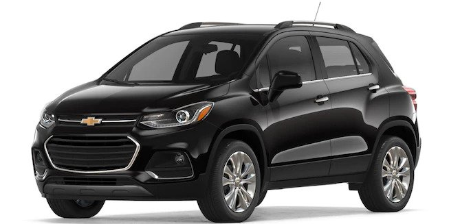 2018 Chevy Trax in Mosaic Black Metallic