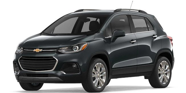 2018 Chevy Trax in Nightfall Gray Metallic