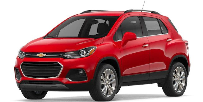 2018 Chevy Trax in Red Hot