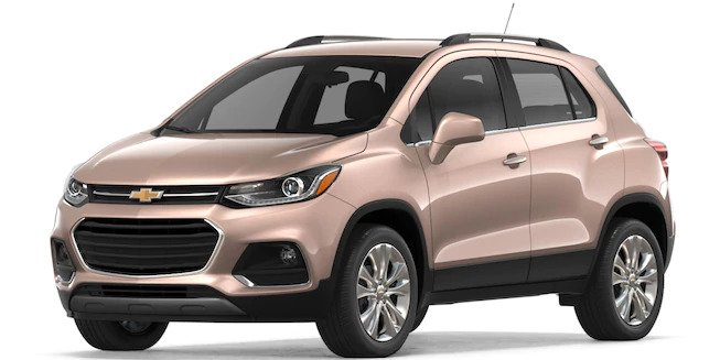 2018 Chevy Trax in Sandy Ridge Metallic