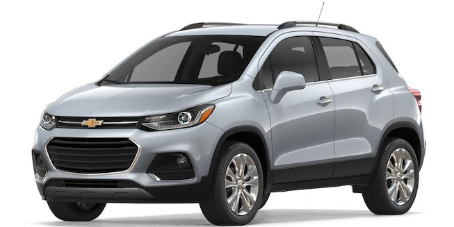 2018 Chevy Trax in Silver Ice Metallic