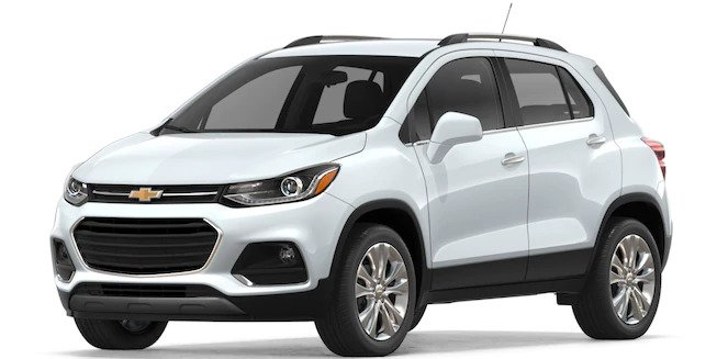 2018 Chevy Trax in Summit White Metallic