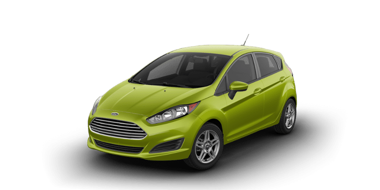 2018 Ford Fiesta in Outrageous Green Metallic