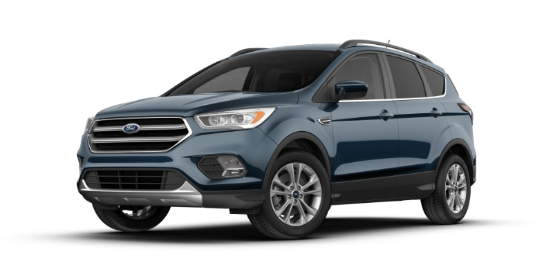 2018 Ford Escape in Blue Metallic