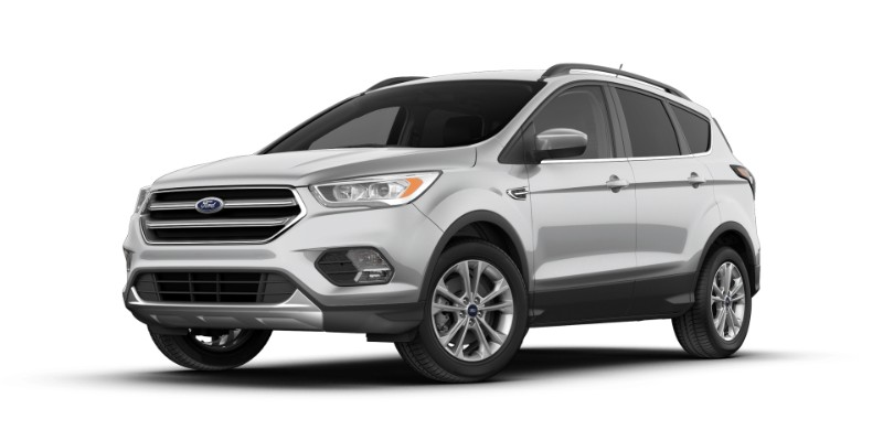2018 Ford Escape in Ingot Silver
