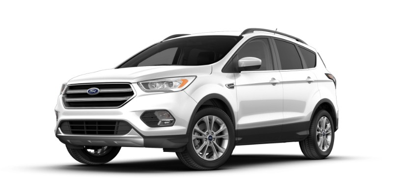 2018 Ford Escape in Oxford White