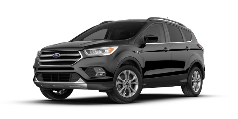 2018 Ford Escape in Shadow Black