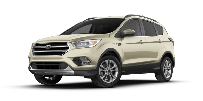 2018 Ford Escape in White Gold
