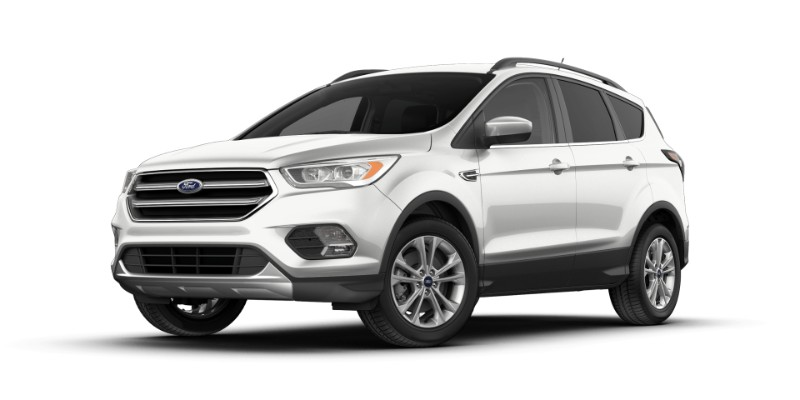 2018 Ford Escape in White Platinum