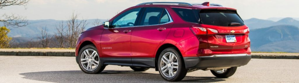 2020 Chevrolet Equinox from the side