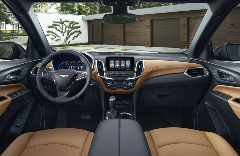 2018 Chevy Equinox dashboard