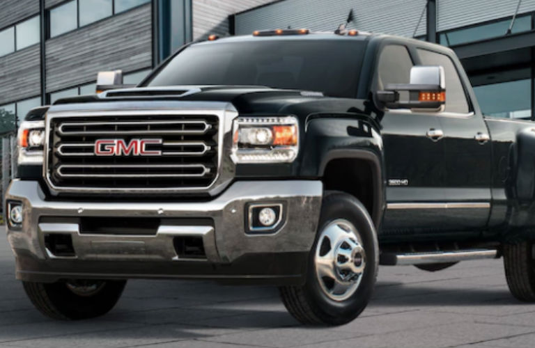2018 GMC Sierra 3500 HD in black