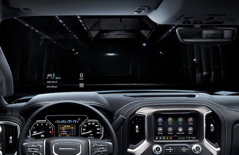 2019 GMC Sierra dashboard