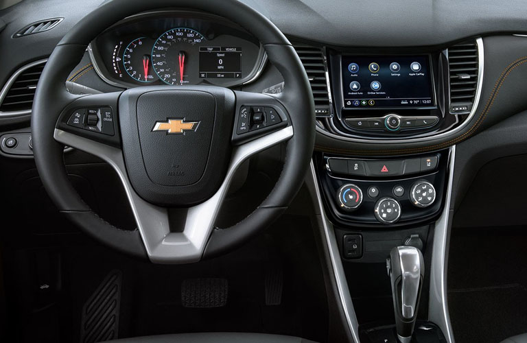 2019 Chevy Trax dashboard