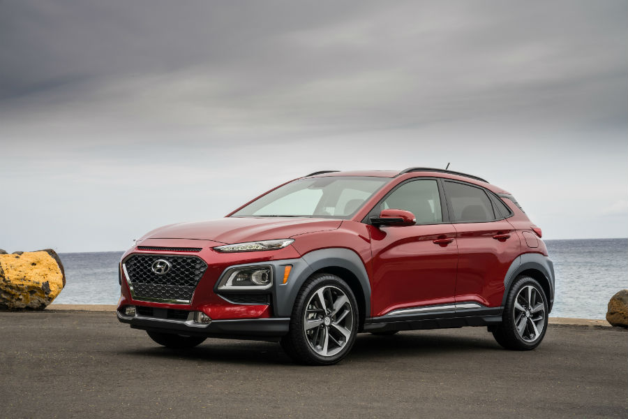 2020 Hyundai Kona Exterior Driver Side Front Profile
