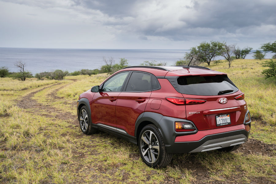 2020 Hyundai Kona Exterior Driver Side Rear Profile