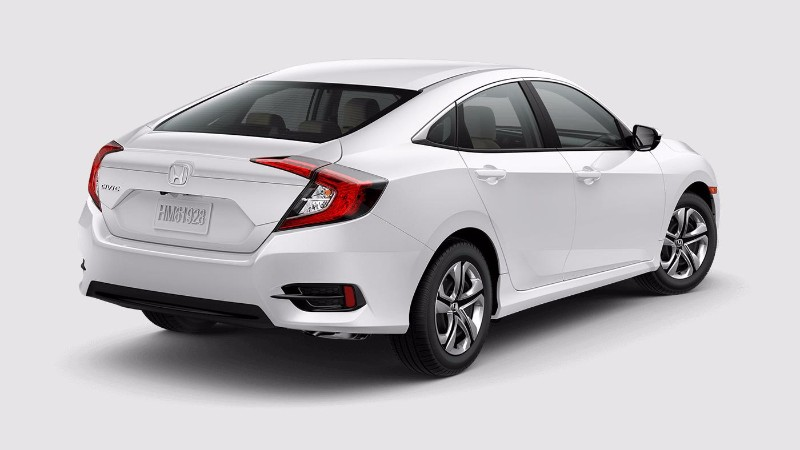 2017 Honda Civic Sedan Taffeta White
