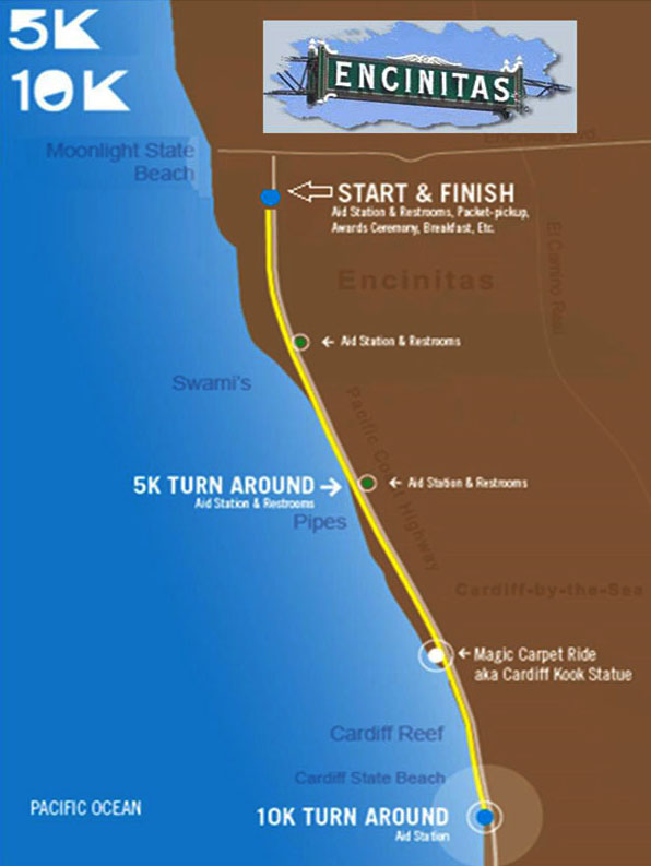 Cardiff Kook Race Map