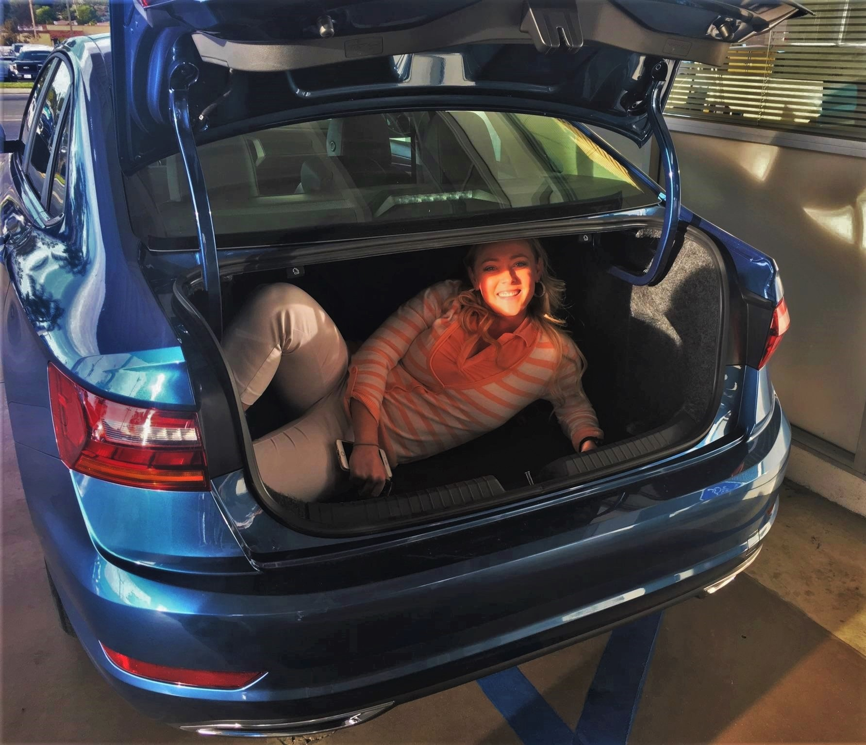 2019 Jetta - Kasi Inside Trunk
