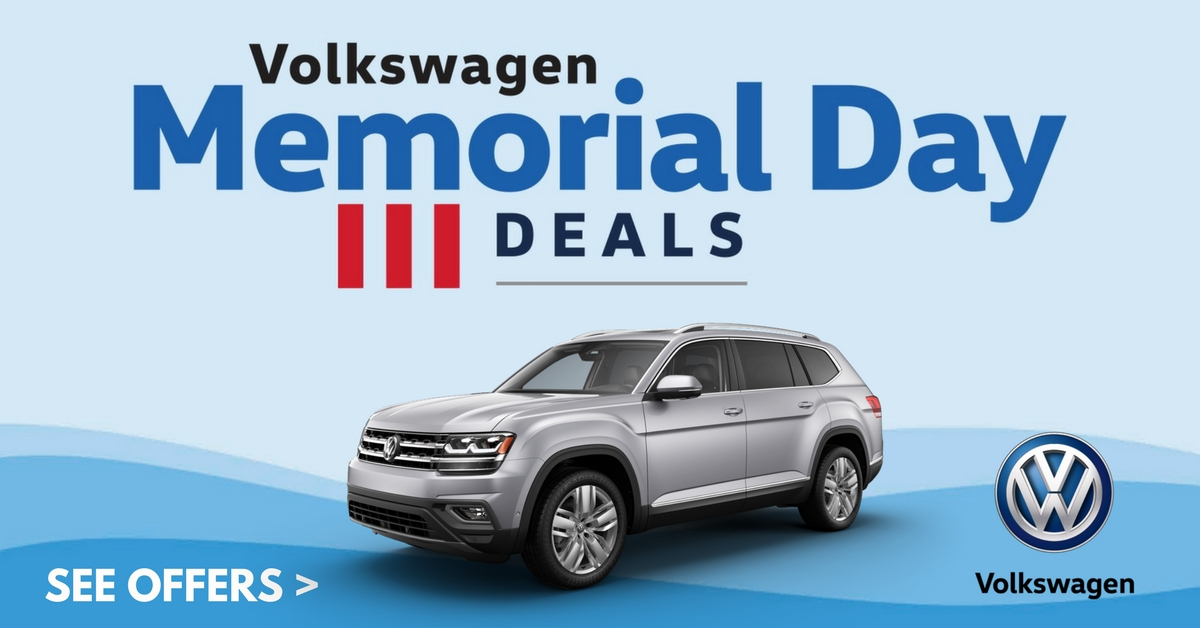Volkswagen Memorial Day Deals