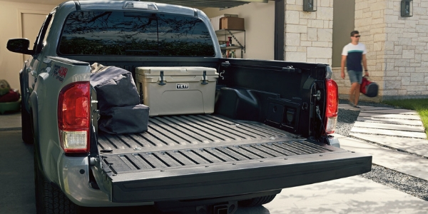 2019 Toyota Tacoma Truck Bed with Yeti Cooler and More Cargo