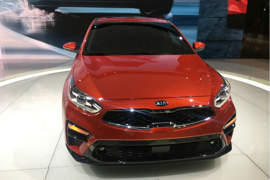 2019 kia forte head on shot from cas 2018