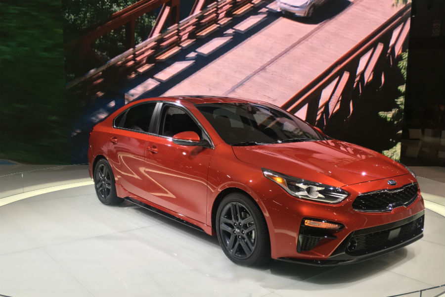 2019 kia forte at cas 2018 passenger side