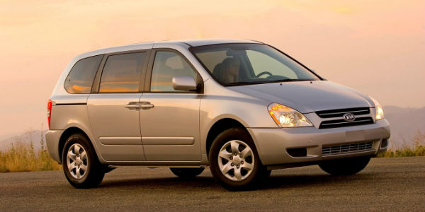 Exterior view of 2007 Kia Sedona
