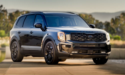 Exterior view of 2021 Kia Telluride