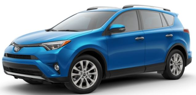 2018 Toyota RAV4 Electric Storm Blue